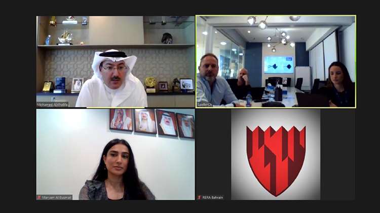 Virtually, CEO of RERA discussing Cityscape exhibition in the Kingdom of Bahrain